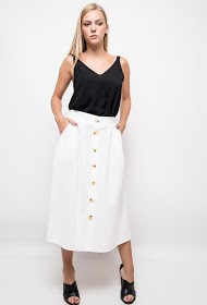 STYLE&CO buttoned skirt