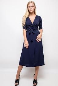 STYLE&CO midi wrap dress