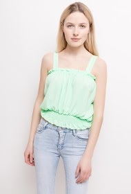STYLE&CO ruffled tank top