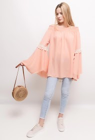 STYLE&CO blouse with flared sleeves