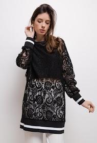 SWEEWË blouse dentelle