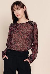 SWEEWË blouse imprimée