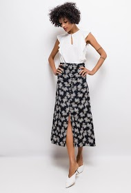 SWEEWË printed skirt