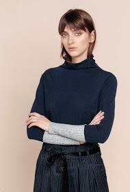 SWEEWË camisola bicolor