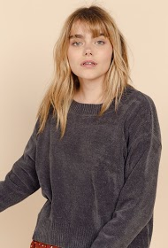 SWEEWË pull oversize col rond
