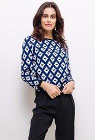 SWEEWË pull jacquard tricot