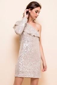 SWEEWë short dress with sequins