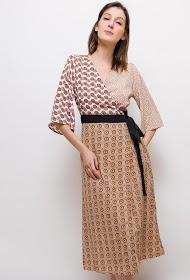 SWEEWË robe imprimée