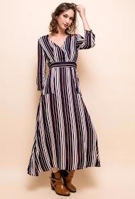 SWEEWË long stripes dress