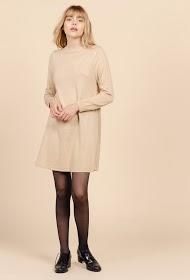 SWEEWË high collar sweater dress