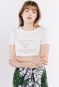 SWEEWË bedrucktes t-shirt