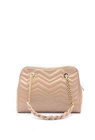 TOM & EVA flap shoulder bag with textured snake pattern-18f-2392