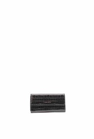 TOM & EVA crocodile effect wallet with flap-19g-2601
