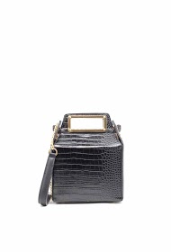 TOM & EVA handbag crossbody crocodile effect-19g-2671