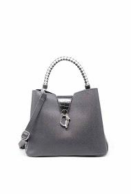 TOM & EVA crocodile effect handbag