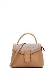 TOM & EVA rigid crocodile effect handbag