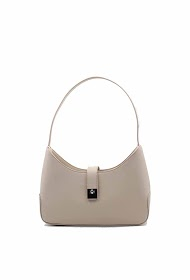 TOM & EVA leather effect baguette bag