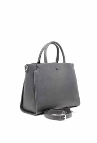 TOM & EVA tote bag rigid effect leather-19g-2587