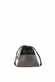 TOM & EVA corded evening bag with rhinestones-19g-2591