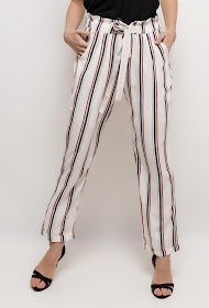 UNIGIRL wide striped trousers