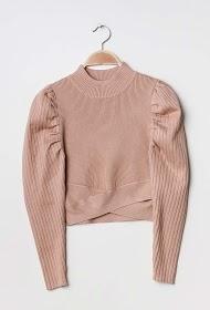 UNIGIRL balloon sleeve sweater