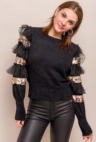 UNIGIRL fancy mouw trui