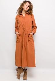 UNIGIRL robe chemise longue