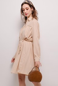 UNIGIRL pleated shirt dress