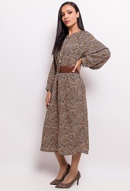 UNIGIRL printed long dress