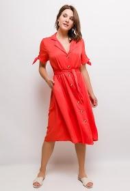 UNIGIRL buttoned midi dress