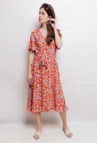 UNIGIRL floral midi dress