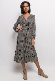 UNIGIRL printed midi dress