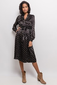 UNIGIRL silky printed dress