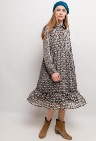 UNIGIRL robe midi imprimée