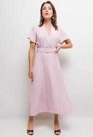 UNIGIRL pleated midi dress