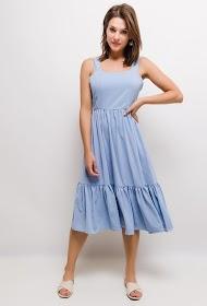 UNIGIRL ruffled midi dress