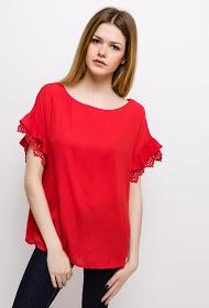 UNIKA ruffled blouse