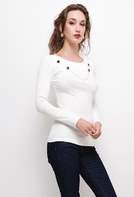 UNIKA blouse with buttons