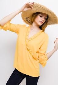 UNIKA wrap blouse