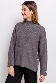 UNIKA sweater with buttons