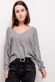 UNIKA sweater with lace