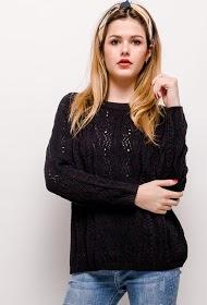 UNIKA open knit sweater