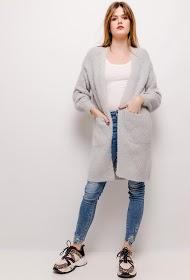 UNIKA soft perforated cardigan