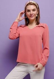 UNIKA blusa femenina con encaje