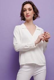 UNIKA blouse chic cache-cœur
