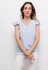 UNIKA striped blouse