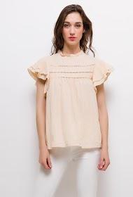 UNIKA blouse with ruffles