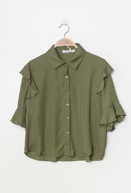 VAN DER ROCK ruffled blouse