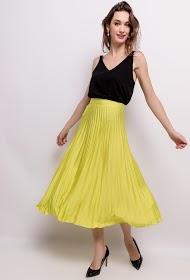 VAN DER ROCK pleated midi skirt