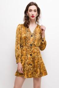 VAN DER ROCK python print dress